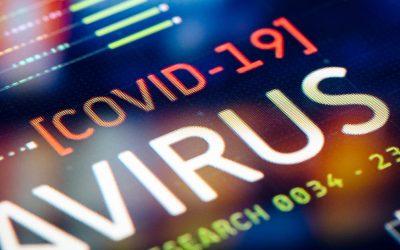 Coronavirus Computer image