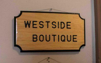 West Side Boutique sign